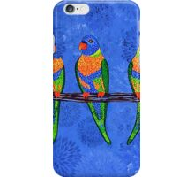 Rainbow Lorikeets iPhone Case/Skin