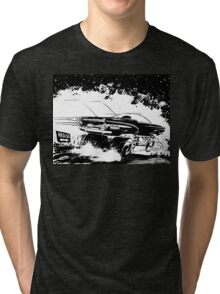 AREA 51 STAR CRUISER Tri-blend T-Shirt