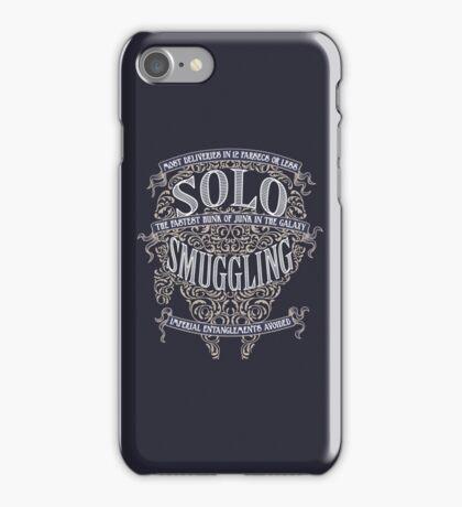 Solo Smuggling - Dark iPhone Case/Skin