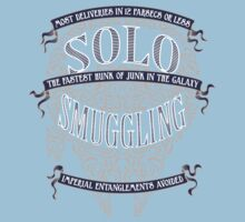 Solo Smuggling - Dark Kids Clothes