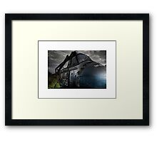 The Iron Chicken Framed Print