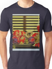 Still Life With Fruit And Wine Unisex T-Shirt