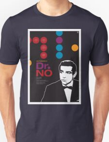 Dr. No - James Bond Movie Poster T-Shirt