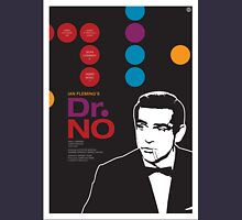 Dr. No - James Bond Movie Poster Unisex T-Shirt