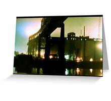 Tobin Bridge, Boston, MA Greeting Card