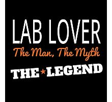 LAB LOVER THE LEGEND Photographic Print