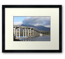 Tasmania Bridge - Hobart Tasmania Framed Print