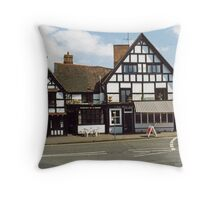 Ye Olde Anchor Inn and Restaurant Throw Pillow