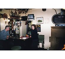 Reg and Fred's Bar Photographic Print