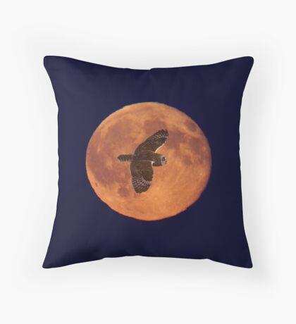 Moon Lighting Throw Pillow