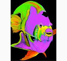 Purple Angel Fish Abstract Unisex T-Shirt