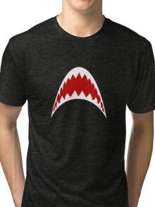 Shark Teeth Tri-blend T-Shirt