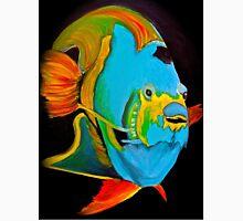 Blue Angel Fish Abstract Unisex T-Shirt
