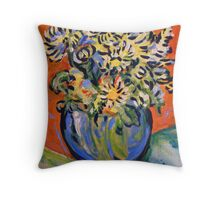 Still Life - Orange Throw Pillow