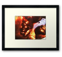 Dream of Soft Fire (Fire Agate) Framed Print