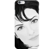 Black & White Portrait iPhone Case/Skin