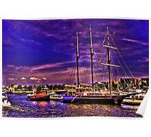 Sail Boston - Peacemaker Poster