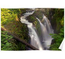 Sol Duc Falls - Columbia River Gorge, Oregon Poster