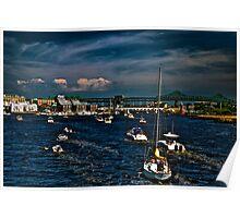 Boston/Charlestown Harbor Poster