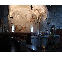 Abbey of Piona, the Main Altar Photographic Print