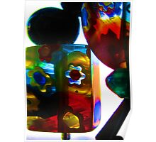 glass beads 2 Poster