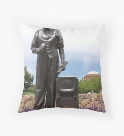 Philo T. Farnsworth Throw Pillow