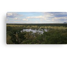 The Mercurial Lakes Canvas Print