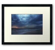 Heavy Sky. Framed Print