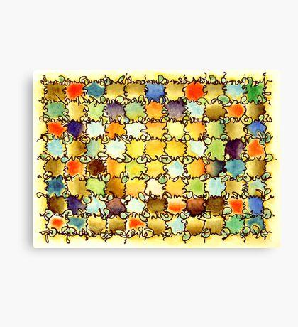 "Warm Light - watercolor - 15"" x 11"" Canvas Print"