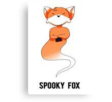 Spooky Fox Canvas Print