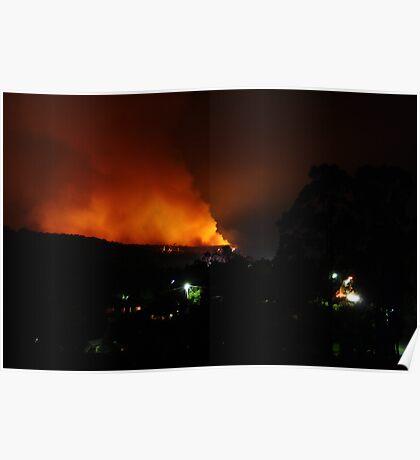 Boolarra Bushfire Poster