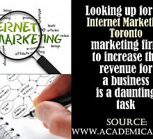 Internet Marketing Toronto-Using The Right Techniques To Grow and Expand by eugenemorris