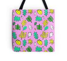 Pink Tropic Tote Bag
