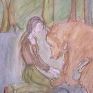Bear Goddess by Anthea  Slade