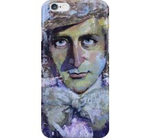 Willy Wonka painting iPhone Case/Skin