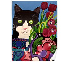 Tullulah and Tulips Poster