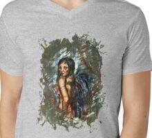 Lost Angel Mens V-Neck T-Shirt