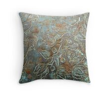 Artistically Embellished Weaponry Throw Pillow