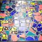 Mosaic tabletop 2 by catherine walker
