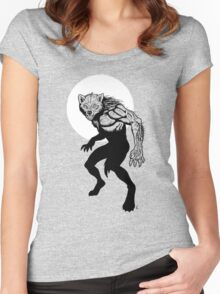 Loup-garou Homme Women's Fitted Scoop T-Shirt