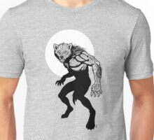 Loup-garou Homme Unisex T-Shirt