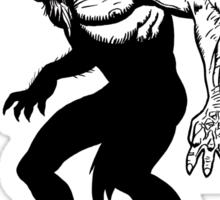 Loup-garou Homme Sticker