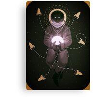 Space Dweller (2) Canvas Print