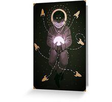 Space Dweller (2) Greeting Card