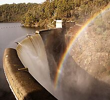 Devils Gate Dam by Antonia Newall