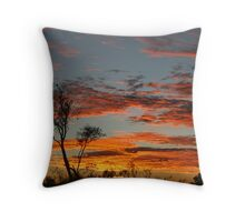 Simpson Desert Sunrise Throw Pillow