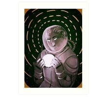 Space Dweller (3) Art Print