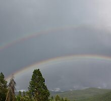 Triple Rainbow? by Magnum1975
