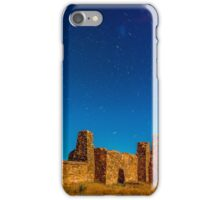 Trails over Kanyaka iPhone Case/Skin