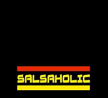 Salsaholic T-Shirt - Best Salsa Shirts - Music Songs Congress by deanworld